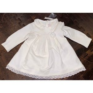 •Mayoral• Baby Girls Long Sleeve Party Dress